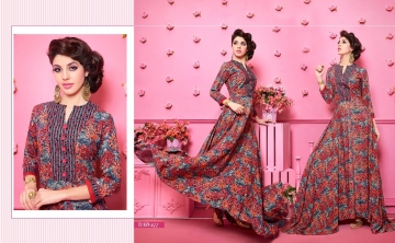 KAJREE FASHION RUNWAY RAYON PARTY WEAR KURTIS COLLECTION WHOLESALE SUPPLIER BEST RATE BY GOSIYA EXPORTS SURAT (1)