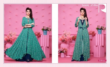 KAJREE FASHION RUNWAY RAYON PARTY WEAR KURTIS COLLECTION WHOLESALE SUPPLIER BEST RATE BY GOSIYA EXPORTS SURAT (10)