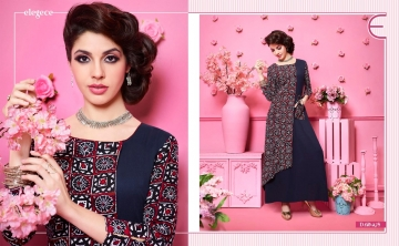 KAJREE FASHION RUNWAY RAYON PARTY WEAR KURTIS COLLECTION WHOLESALE SUPPLIER BEST RATE BY GOSIYA EXPORTS SURAT (11)