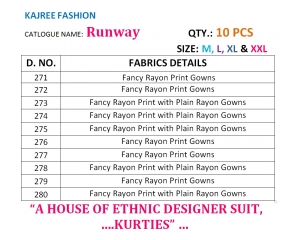 KAJREE FASHION RUNWAY RAYON PARTY WEAR KURTIS COLLECTION WHOLESALE SUPPLIER BEST RATE BY GOSIYA EXPORTS SURAT (12)