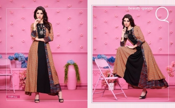 KAJREE FASHION RUNWAY RAYON PARTY WEAR KURTIS COLLECTION WHOLESALE SUPPLIER BEST RATE BY GOSIYA EXPORTS SURAT (3)
