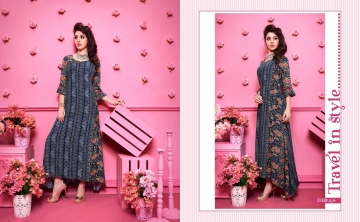 KAJREE FASHION RUNWAY RAYON PARTY WEAR KURTIS COLLECTION WHOLESALE SUPPLIER BEST RATE BY GOSIYA EXPORTS SURAT (7)