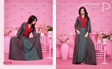KAJREE FASHION RUNWAY RAYON PARTY WEAR KURTIS COLLECTION WHOLESALE SUPPLIER BEST RATE BY GOSIYA EXPORTS SURAT (8)