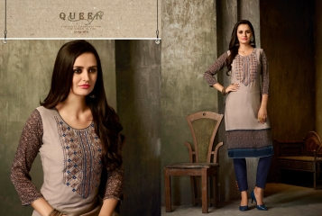 Kajree oxygen 2 georgette kurtis collection BY GOSIYA EXPORTS (10)