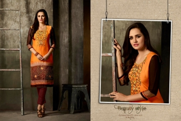 Kajree oxygen 2 georgette kurtis collection BY GOSIYA EXPORTS (11)