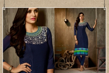 Kajree oxygen 2 georgette kurtis collection BY GOSIYA EXPORTS (12)