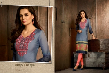 Kajree oxygen 2 georgette kurtis collection BY GOSIYA EXPORTS (13)