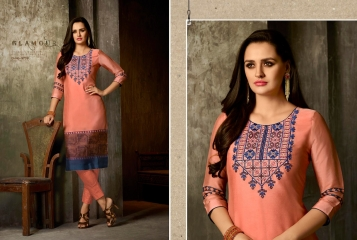 Kajree oxygen 2 georgette kurtis collection BY GOSIYA EXPORTS (2)