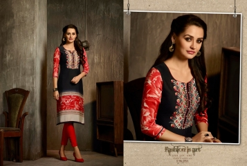 Kajree oxygen 2 georgette kurtis collection BY GOSIYA EXPORTS (4)