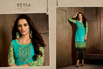 Kajree oxygen 2 georgette kurtis collection BY GOSIYA EXPORTS (6)