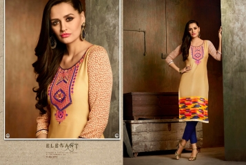 Kajree oxygen 2 georgette kurtis collection BY GOSIYA EXPORTS (7)