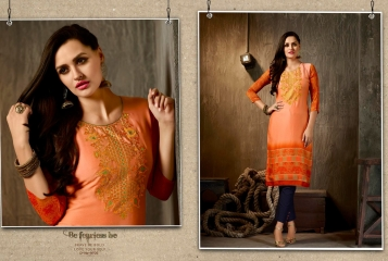 Kajree oxygen 2 georgette kurtis collection BY GOSIYA EXPORTS (8)