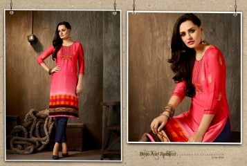 Kajree oxygen 2 georgette kurtis collection BY GOSIYA EXPORTS (9)