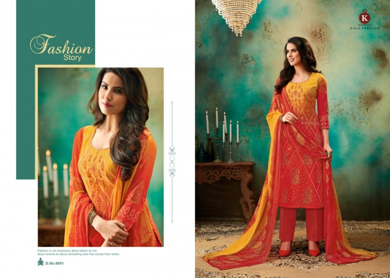 a6bed7f8fd KALA FASHION TANYA VOL 2 COTTON FABRIC WITH EMBROIDERY WORK SALWAR (12)