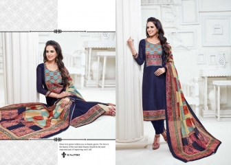 KALA FASHION TINA VOL 97 CHANDERI EMBROIDERED WHOLESALE SALWAR KAMEEZ BEST RATE BY GOSIYA EXPORTS SURAT (10)