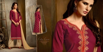 Kalasth lifestyle golden pearl vol 2 dress materials GOSIYA EXPORTS (1)