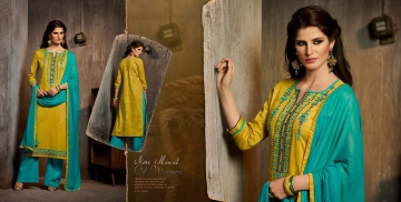 Kalasth lifestyle golden pearl vol 2 dress materials GOSIYA EXPORTS (4)