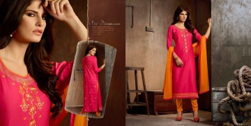 Kalasth lifestyle golden pearl vol 2 dress materials GOSIYA EXPORTS (6)