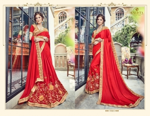 KALISTA FASHION BY RAGINI CATALOGUE DESIGNER PARTY WEAR SAREES COLLECTION WHOLESALE SUPPLIER DEALER BEST RATE B (4099)