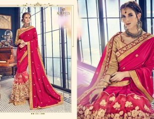 KALISTA FASHION BY RAGINI CATALOGUE DESIGNER PARTY WEAR SAREES COLLECTION WHOLESALE SUPPLIER DEALER BEST RATE B (4105)