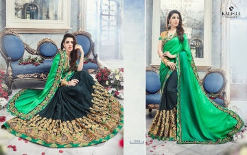 KALISTA FASHION EMPEROR CATALOG FANCY EMBROIDERED PARTY WEAR SAREES WHOLESALE DEALER BEST EXPORTS SURAT (7)