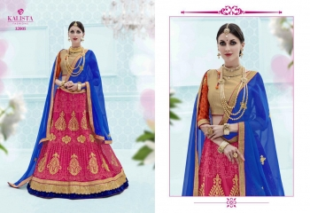 KALISTA FASHION GHUNGHAT BRIDAL WEAR LEHENGA COLLECTION BUY AT WHOLESALE BEST RATE BY GOSIYA EXPORTS SURAT (1)