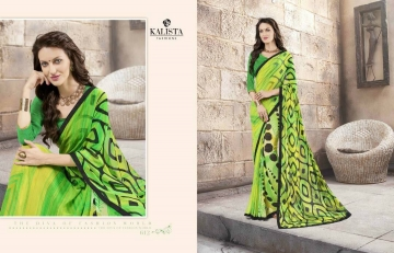 KALISTA FASHION LILY VOL 1 GEORGETTE PRINTS SAREES WHOLSALER BEST RATE BY GOSIYA EXPORTS (11)