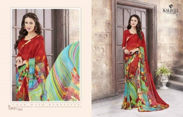 KALISTA FASHION LILY VOL 1 GEORGETTE PRINTS SAREES WHOLSALER BEST RATE BY GOSIYA EXPORTS (2)