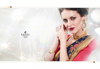 Kalista starlet party wear saree catalog WHOLESALE BEST RATE (1)