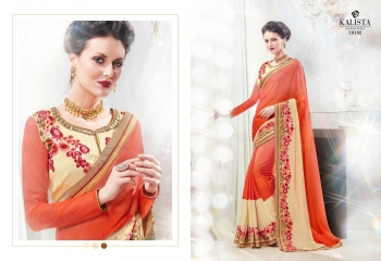 Kalista starlet party wear saree catalog WHOLESALE BEST RATE (14)