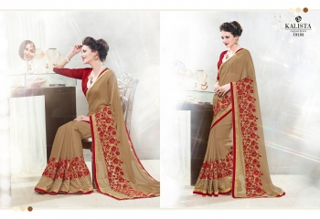 Kalista starlet party wear saree catalog WHOLESALE BEST RATE (16)