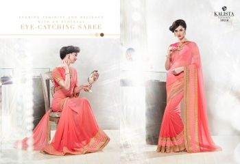 Kalista starlet party wear saree catalog WHOLESALE BEST RATE (2)