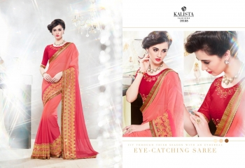Kalista starlet party wear saree catalog WHOLESALE BEST RATE (6)