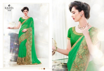 Kalista starlet party wear saree catalog WHOLESALE BEST RATE (7)