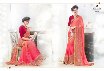 Kalista starlet party wear saree catalog WHOLESALE BEST RATE (9)