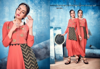 KALKARI NX SOUL VOL 2 GEORGETTE PARTY WEAR KURTIS WHOLESALE SUPPLIER BEST RATE BY GOSIYA EXPORTS SURAT (2)