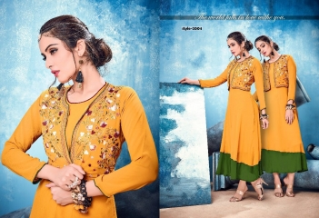 KALKARI NX SOUL VOL 2 GEORGETTE PARTY WEAR KURTIS WHOLESALE SUPPLIER BEST RATE BY GOSIYA EXPORTS SURAT (5)