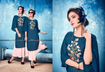 KALKARI NX SOUL VOL 2 GEORGETTE PARTY WEAR KURTIS WHOLESALE SUPPLIER BEST RATE BY GOSIYA EXPORTS SURAT (7)