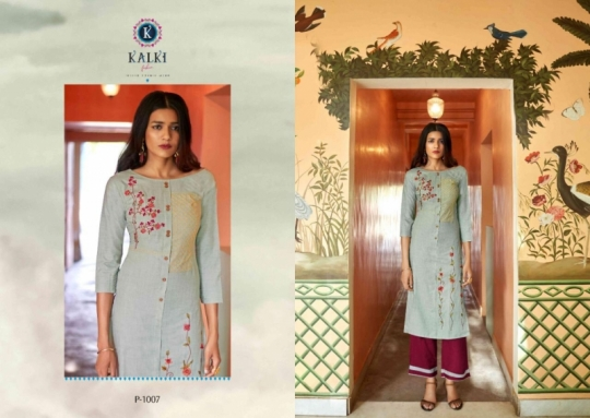 KALKI FASHION ESSENCE KURTI  (4)