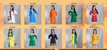 KALPADRUM FASHION BY KALPAYANI CATALOG COTTON SLUB WORK KURTIS WHOLESALE BEST RATE BY GOSIYA EXPORTS SURAT (11)