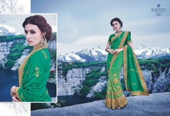 KALSITA FASHION VIVAH 2 CATALOG WHOLESALE PARTY WEAR SAREES COLLECTION DEALER BEST RATE BY GOSIYA EXPORTS SURAT (1)