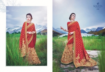 KALSITA FASHION VIVAH 2 CATALOG WHOLESALE PARTY WEAR SAREES COLLECTION DEALER BEST RATE BY GOSIYA EXPORTS SURAT (2)