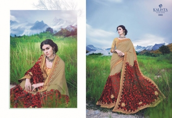 KALSITA FASHION VIVAH 2 CATALOG WHOLESALE PARTY WEAR SAREES COLLECTION DEALER BEST RATE BY GOSIYA EXPORTS SURAT (3)
