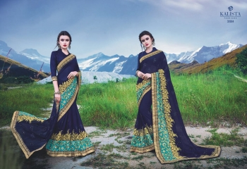 KALSITA FASHION VIVAH 2 CATALOG WHOLESALE PARTY WEAR SAREES COLLECTION DEALER BEST RATE BY GOSIYA EXPORTS SURAT (4)