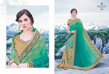 KALSITA FASHION VIVAH 2 CATALOG WHOLESALE PARTY WEAR SAREES COLLECTION DEALER BEST RATE BY GOSIYA EXPORTS SURAT (5)