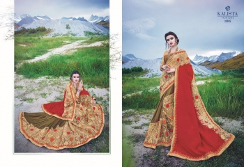 KALSITA FASHION VIVAH 2 CATALOG WHOLESALE PARTY WEAR SAREES COLLECTION DEALER BEST RATE BY GOSIYA EXPORTS SURAT (6)