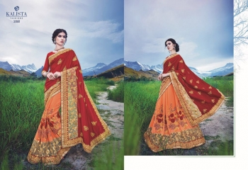 KALSITA FASHION VIVAH 2 CATALOG WHOLESALE PARTY WEAR SAREES COLLECTION DEALER BEST RATE BY GOSIYA EXPORTS SURAT (7)