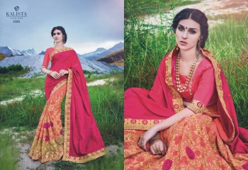 KALSITA FASHION VIVAH 2 CATALOG WHOLESALE PARTY WEAR SAREES COLLECTION DEALER BEST RATE BY GOSIYA EXPORTS SURAT (8)