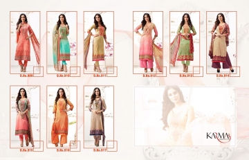 Karma 900 series casual cotton dress material collection BY GOSIYA EXPORTS (7)