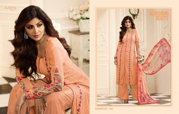 KARMA TRENDZ BY GEORGETTE EMBROIDERED SALWAR KAMEEZ WHOLESALE BEST RATE BY GOSIYA EXPORTS AT SURAT (22)
